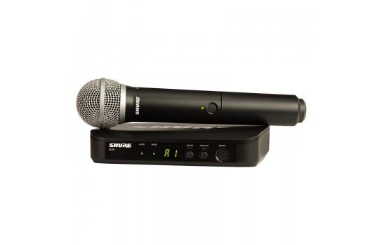 قیمت خرید فروش میکروفون بیسیم Shure BLX24/PG58