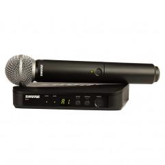 قیمت خرید فروش میکروفون بیسیم شور Shure BLX24/SM58
