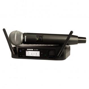 قیمت خرید فروش میکروفون بیسیم شور Shure GLXD24E/SM58