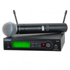 قیمت خرید فروش میکروفون بیسیم شور Shure SLX24/Beta58
