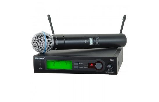 قیمت خرید فروش میکروفون بیسیم Shure SLX24/Beta58