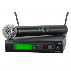 قیمت خرید فروش میکروفون بیسیم شور Shure SLX24/SM58