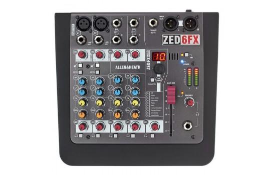 قیمت خرید فروش میکسر Allen & Heath ZED-6FX