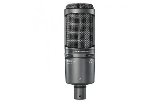 قیمت خرید فروش میکروفون کاندنسر Audio-Technica AT2020USB+