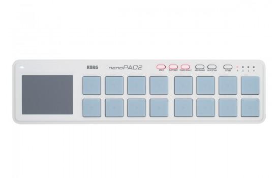 قیمت خرید فروش میدی کنترلر Korg nanoPAD2 WH