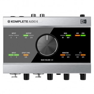 قیمت خرید فروش کارت صدا نیتیو اینسترومنتس Native Instruments Komplete Audio 6