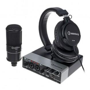 قیمت خرید فروش کارت صدا اشتنبرگ Steinberg UR22mkII Recording Pack