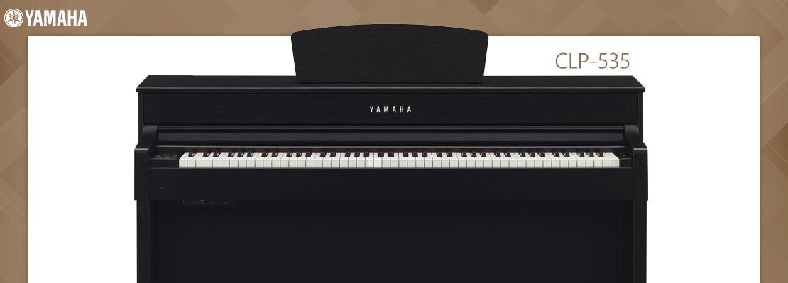 yamaha clp 535 wh. Black Bedroom Furniture Sets. Home Design Ideas